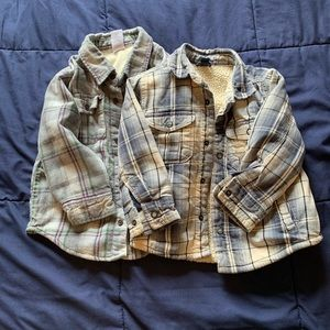 Lined flannels